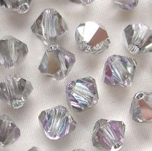 6mm Preciosa Crystal Bicone Vitrail Light - 72